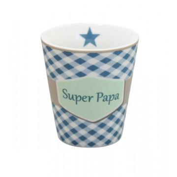 Tazón de leche Super Papa