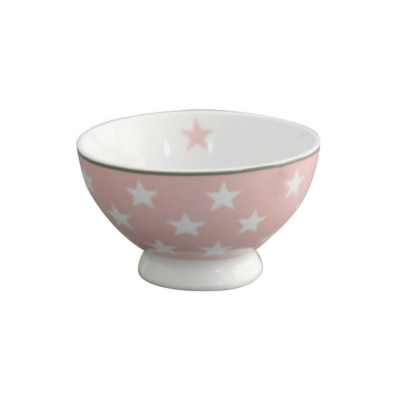 Bol de cerámica Rosa con Estrellas