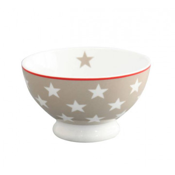 Bol de cerámica Beig con Estrellas