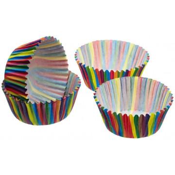 Cápsulas mini cupcakes Arcoiris KC