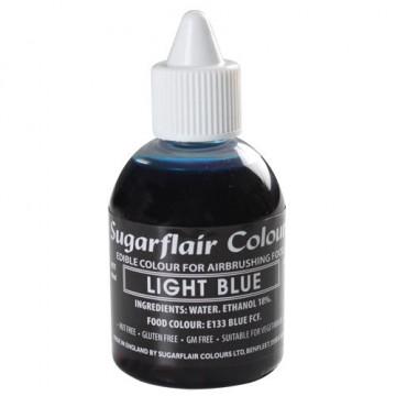 Colorante para aerógrafo azul claro 60ml Sugarflair