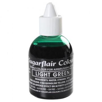 Colorante para aerógrafo Verde Claro 60ml Sugarflair