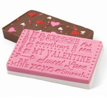 Molde silicona Chocolatinas San Valentín Wilton
