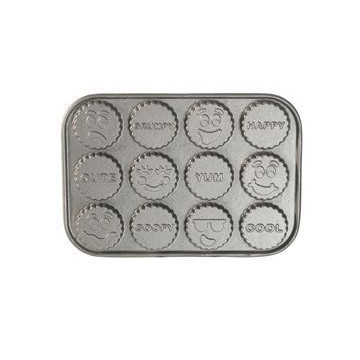 Pro Cast Funny Faces Treats Pan Nordic Ware