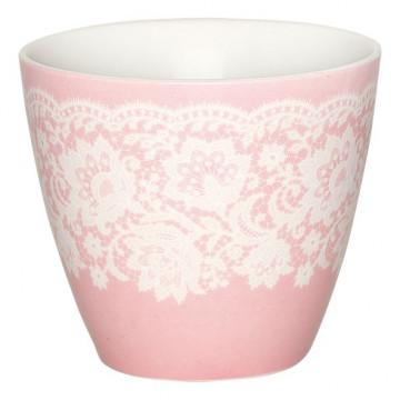 Tazón de leche Liva Pink Green Gate