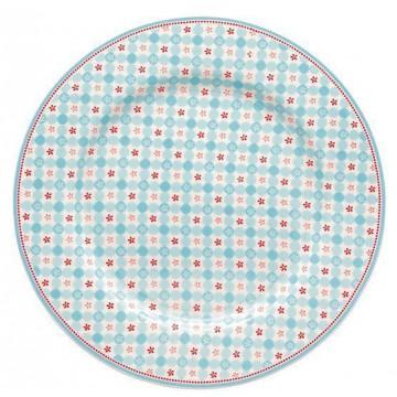 Plato de cerámica postre Mimi Blue Green Gate