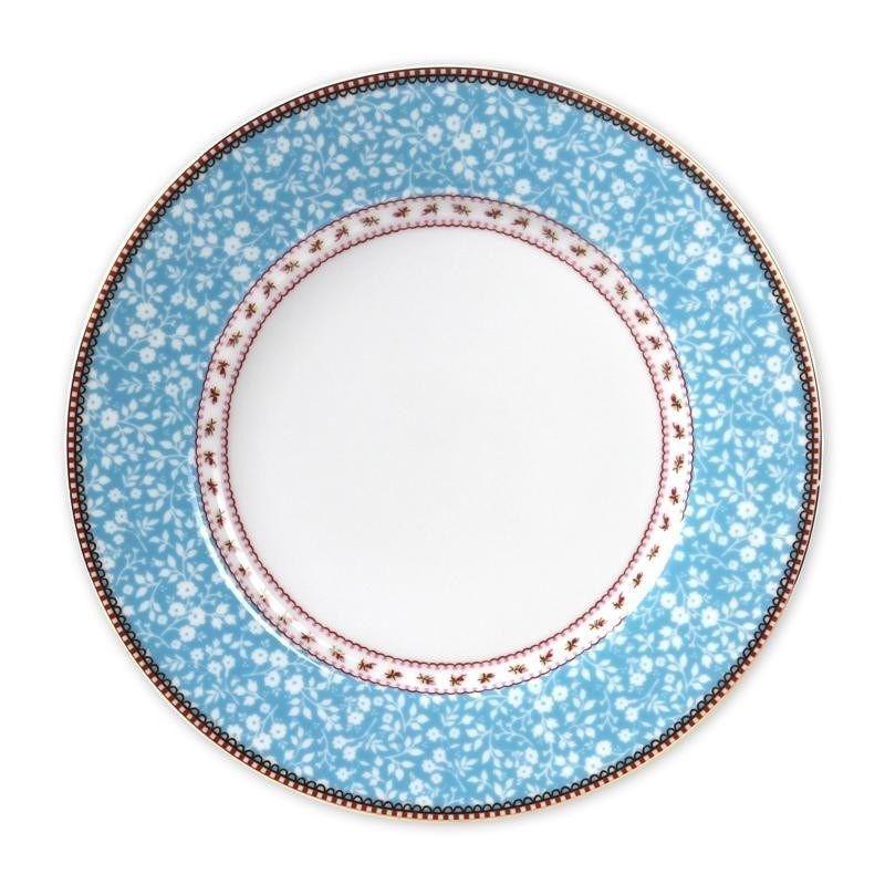 Plato de cerámica grande Oiseau Azul PIP Studio