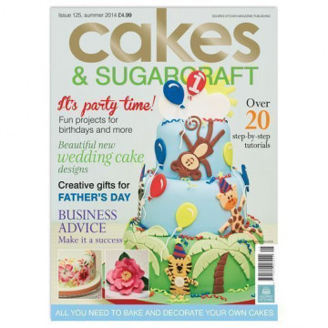 Revista Cakes & Sugarcraft  Nº 125 Verano 2014 Squire Kitchen