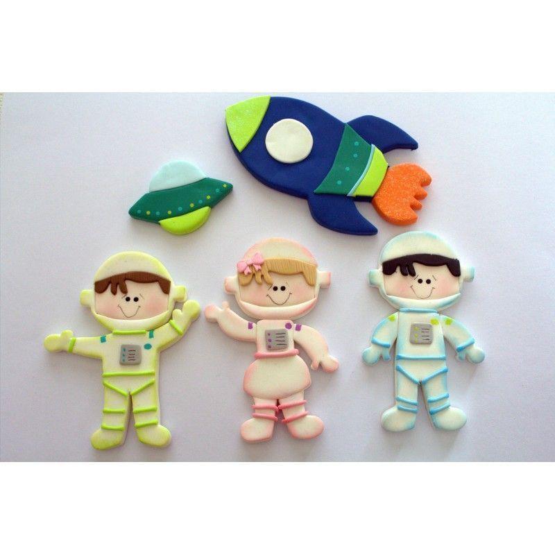 Cortante pack 13 cortantes: Astronauta