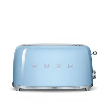 Tostador 4 rebanadas Azul Pastel Smeg Retro 50´Style