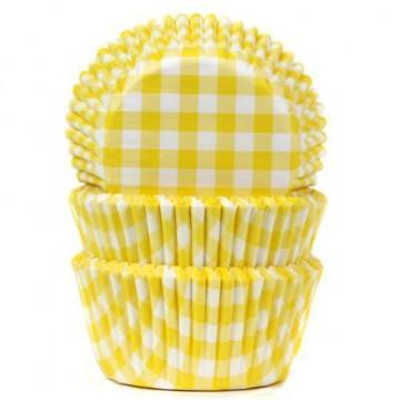 Cápsulas cupcakes Vichy Amarillo HoM