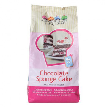 Preparado para bizcocho de Chocolate 1kg Funcakes