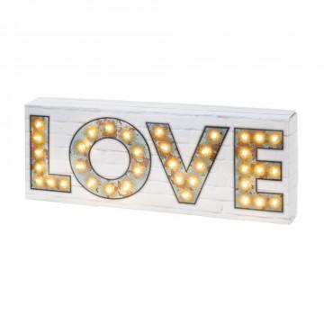 Centro de luces LOVE