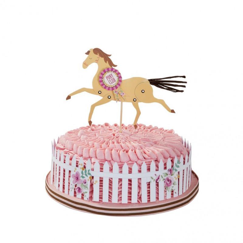 Topper para tarta Pony 1