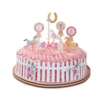 Topper para tarta Pony 2