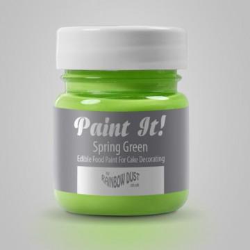 Pintura comestible Verde Primavera 25gr Rainbow Dust