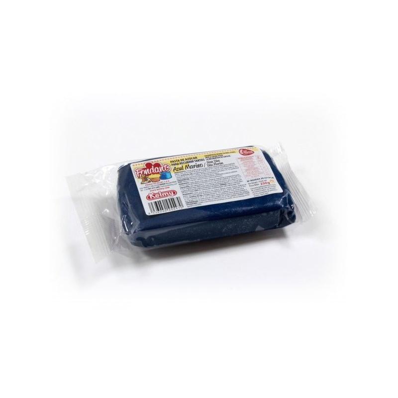 Fondant listo para usar Azul Marino 250gr Kelmy
